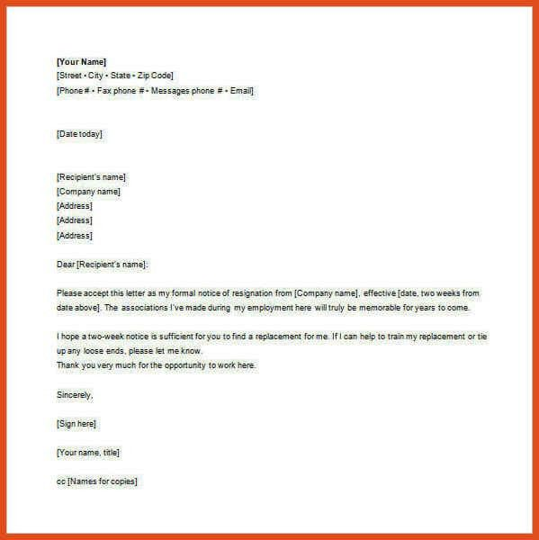 mail letter format | moa format