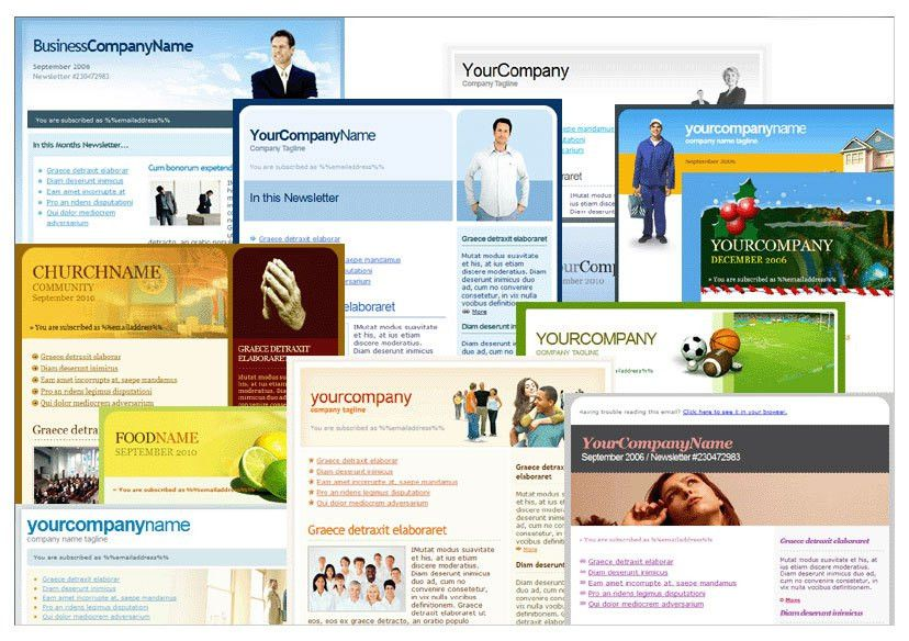 Email Marketing Templates Free Download Email Marketing Templates ...