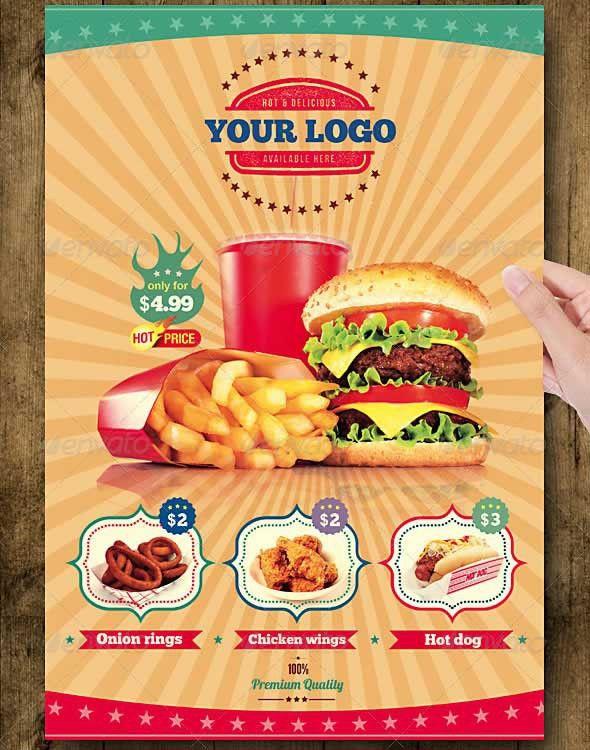 Food Flyer Template. Food Flyer Food Flyer | Adobe Indesign And ...