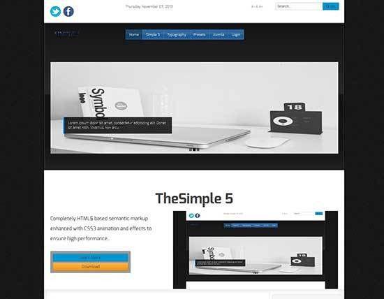 55+ Best Free Responsive Joomla Templates