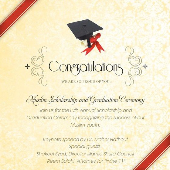 Graduation Ceremony Invitation – gangcraft.net