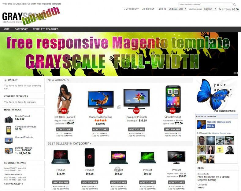 20 Best Premium One Page Website Templates | Free & Premium Templates