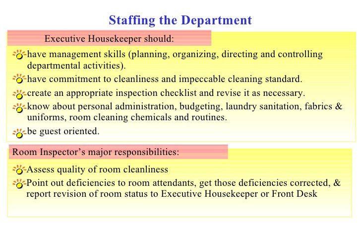 Housekeeping Week 2011