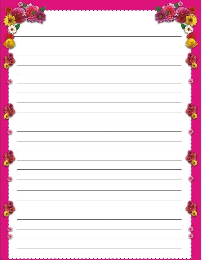 Free printable kids Mother's Day writing paper. Description from ...