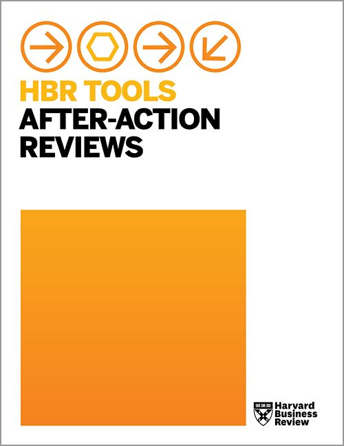 HBR Tools: After-Action Reviews