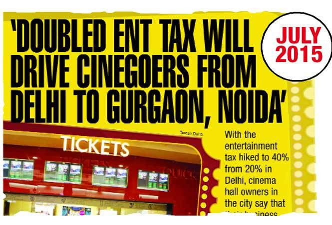Will GST bring down movie ticket prices in Delhi and raise them in ...
