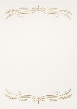 Gold Foil Filigree A7 Printable Invitations | Paper Source