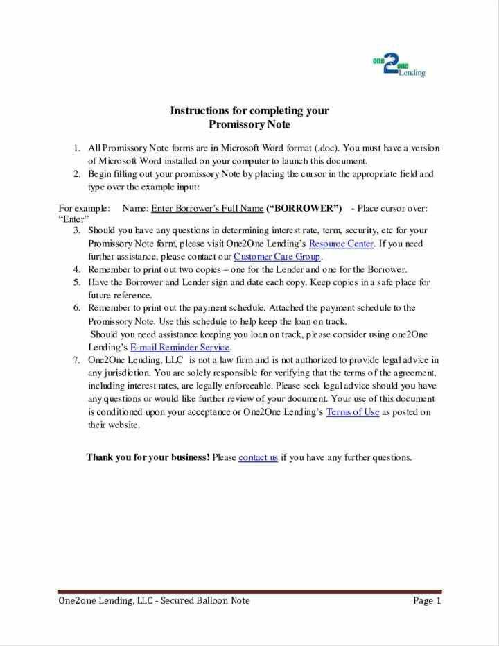 sample promissory note letter | Docoments Ojazlink