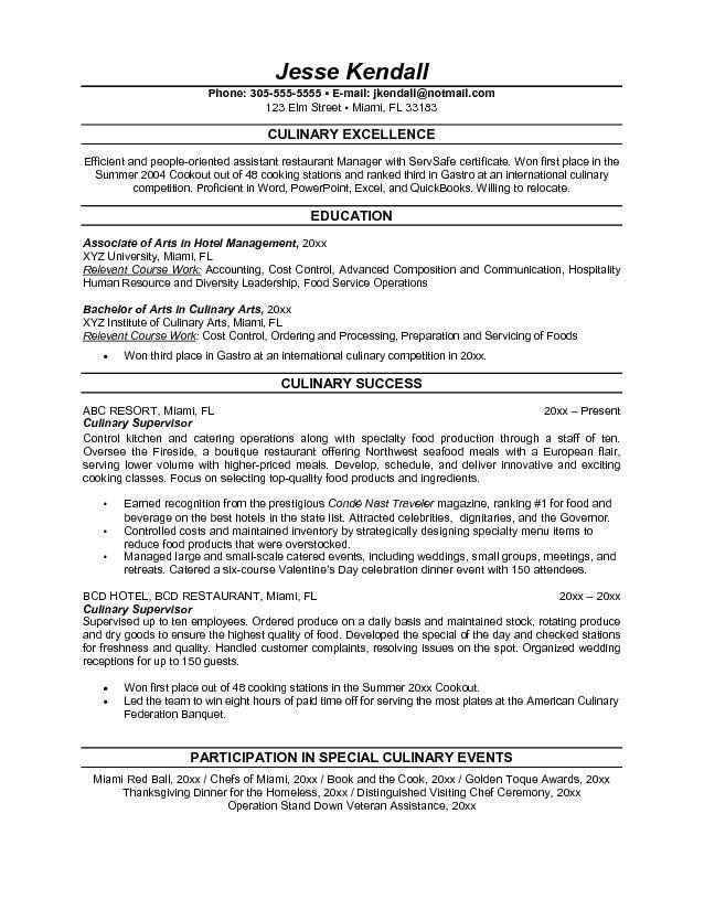 resume for line cook level pastry chef resume seangarrette line ...