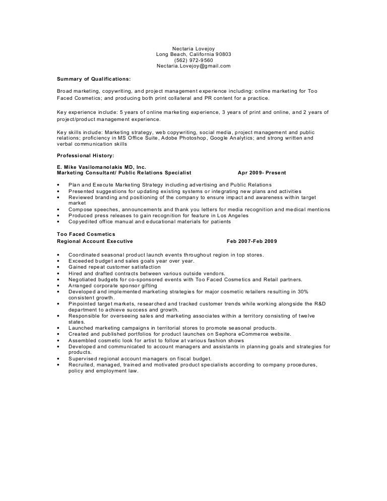 Nl resume