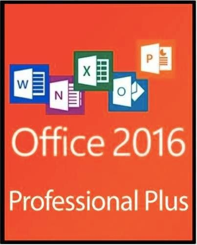Microsoft Office Professional Plus 2016 - Lifetime License (WAH ...