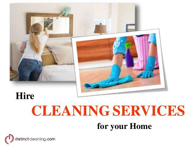 Hire Cleaning Services for your Home