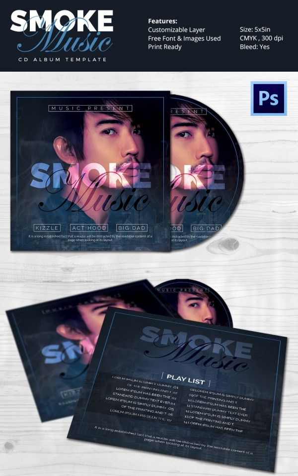 Album Cover Template - 51+ Free PSD Format Download! | Free ...