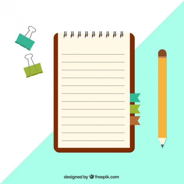 Notepad Vectors, Photos and PSD files | Free Download