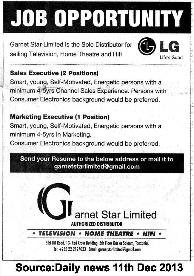 Sales Marketing Executive Job Description. Sales & Marketing ...