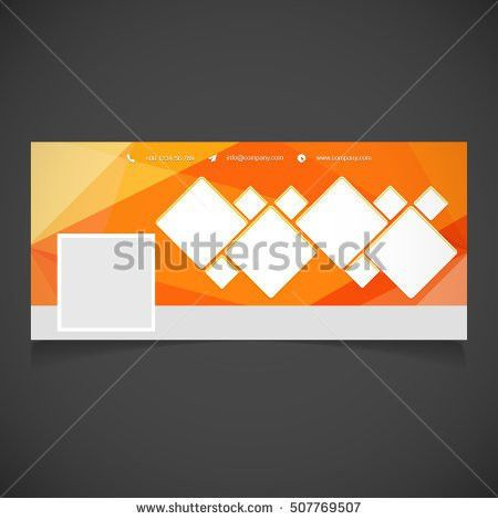Creative Orange Background Photography Banner Template Stock ...