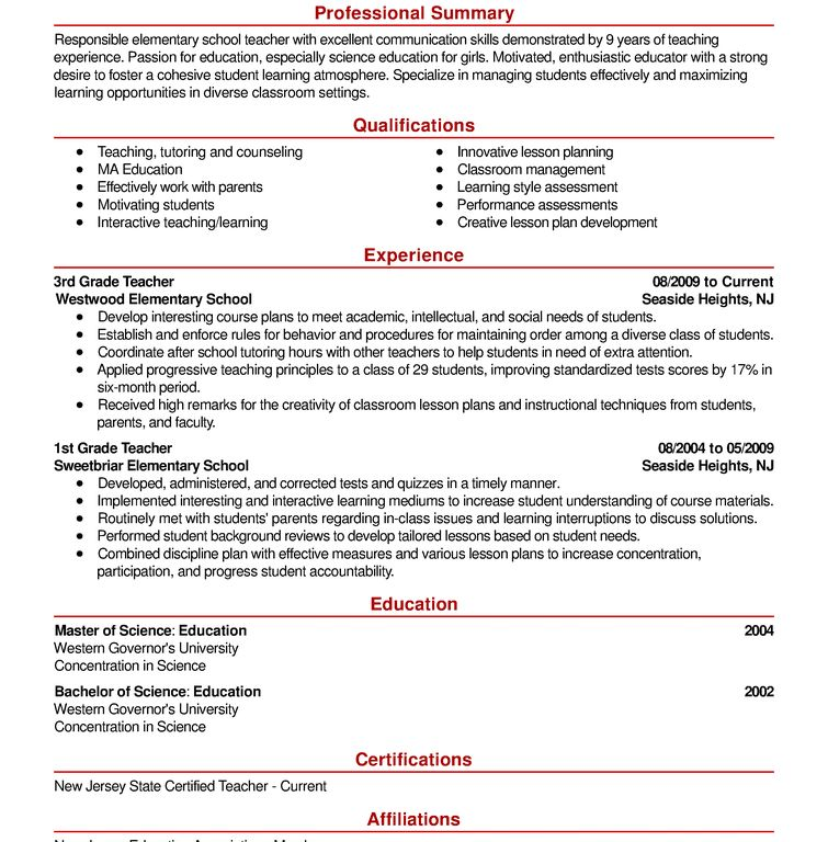 Exciting Example Of A Resume Extraordinary - Resume CV Cover Letter
