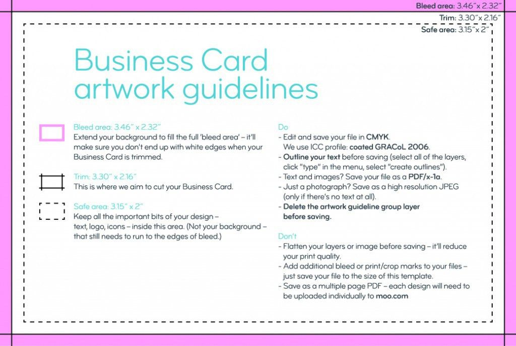 How to Design Business Cards using Canva & Moo - https ...