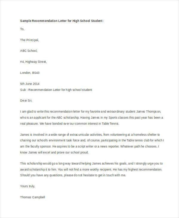 41+ Recommendation Letter Example Templates | Free & Premium Templates