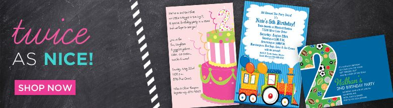 Kid's Birthday Party Invitation Wording Ideas