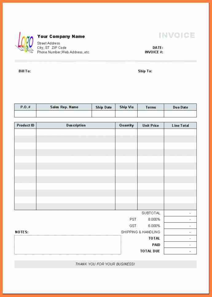 5+ invoice letter template for professional services | Life ...