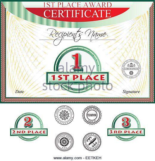 Certificate Of Merit Stock Photos & Certificate Of Merit Stock ...