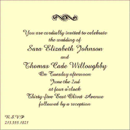 10 best Demo-Laur invites images on Pinterest   Wedding invitation ...