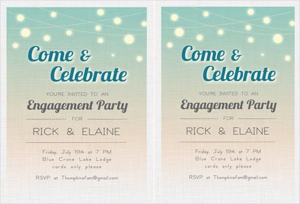 43+ Party Invitation Designs | Free & Premium Templates