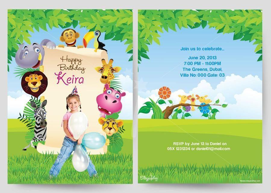 Invitation Birthday Card | badbrya.com