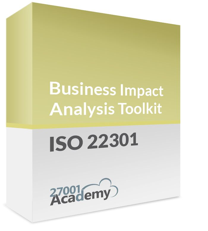 Business Impact Analysis Questionnaire [ISO 22301 Templates ...