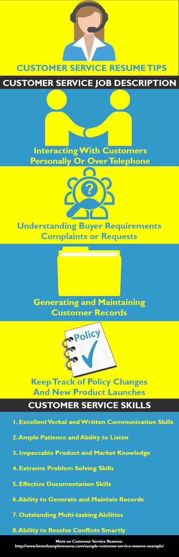 customer relations resume%0A Sample Customer Service Resume Example