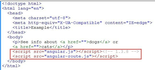 Simple Example of ng-view in AngularJS | Learn Web Tutorials