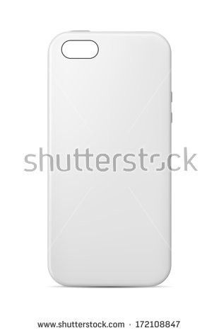 Phone Case Template Stock Vector 172108847 - Shutterstock