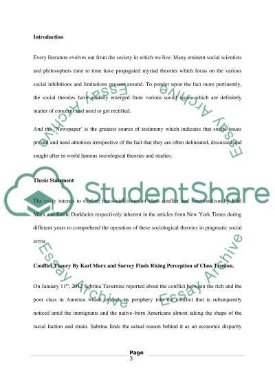 Newspaper Article Review Essay Example | Topics and Well Written ...
