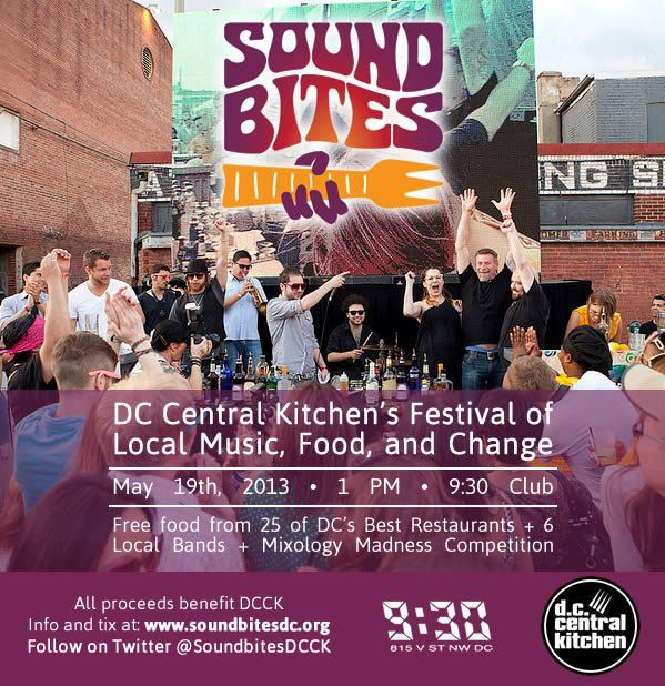 soundbites 2013 email flyer | We Love DC