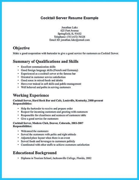 Stage Manager Resume Template Sample - http://resumesdesign.com ...