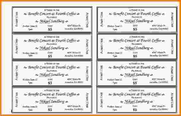 Printable Tickets Template.Event Ticket Templates 1.jpg - Letter ...
