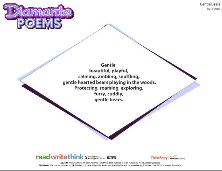 Best Diamante Poems   MyPoems.Co