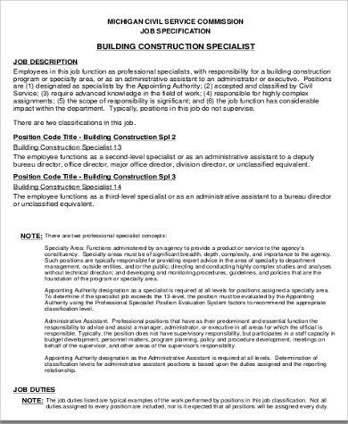 Construction Worker Job Description. Assembly Line Worker Job ...