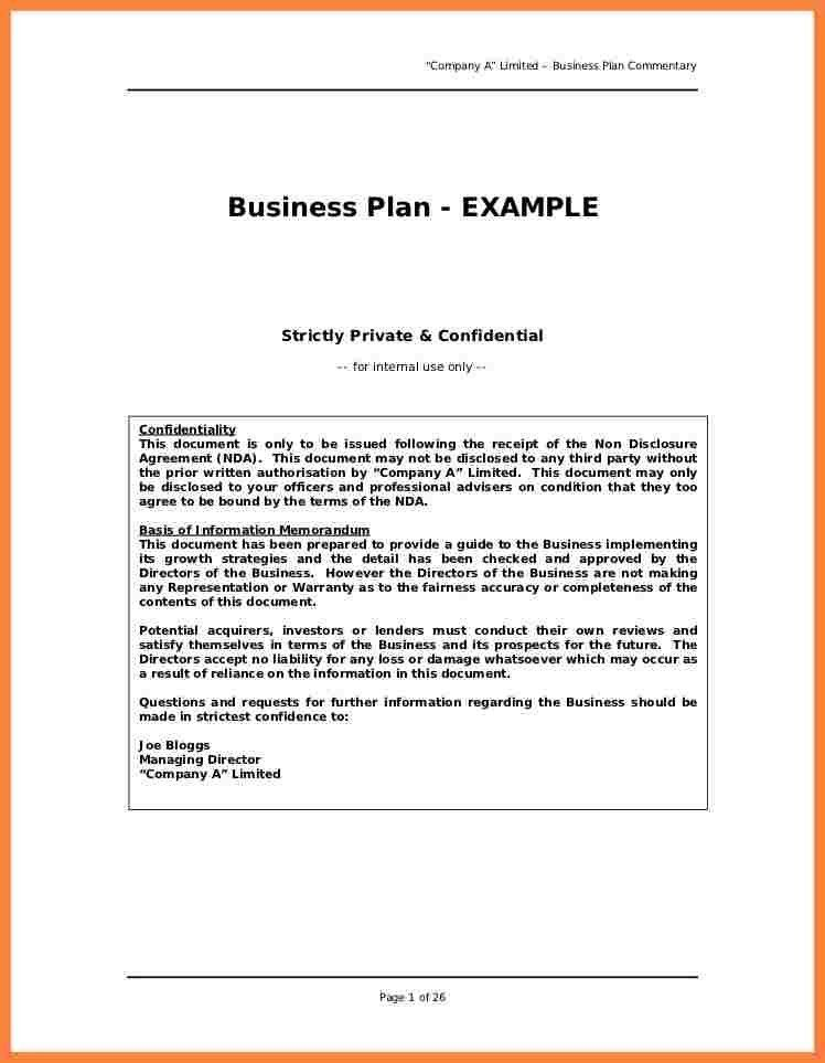 8+ examples business plan outline | Bussines Proposal 2017