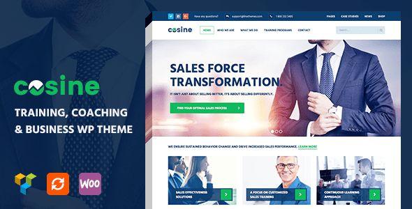 Cosine - Training, Coaching & Business WordPress Theme by linethemes