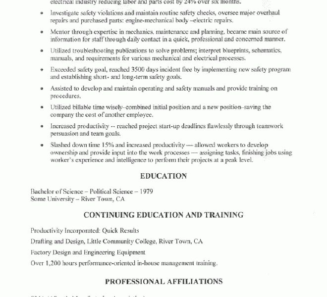 Incredible Ideas Maintenance Manager Resume 3 Maintenance Manager ...