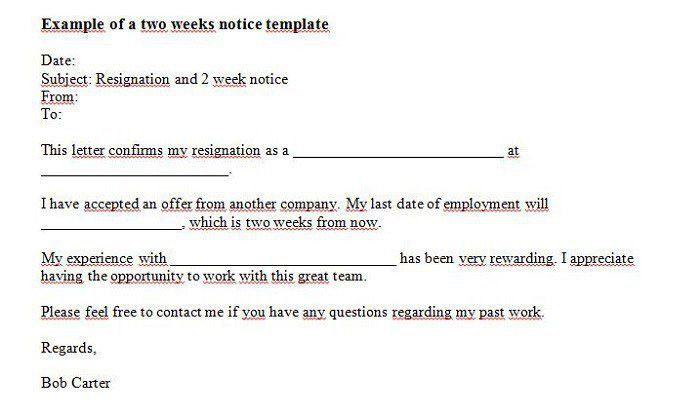 Layoff Notice Template. Consolidation Out Final Notice Template ...
