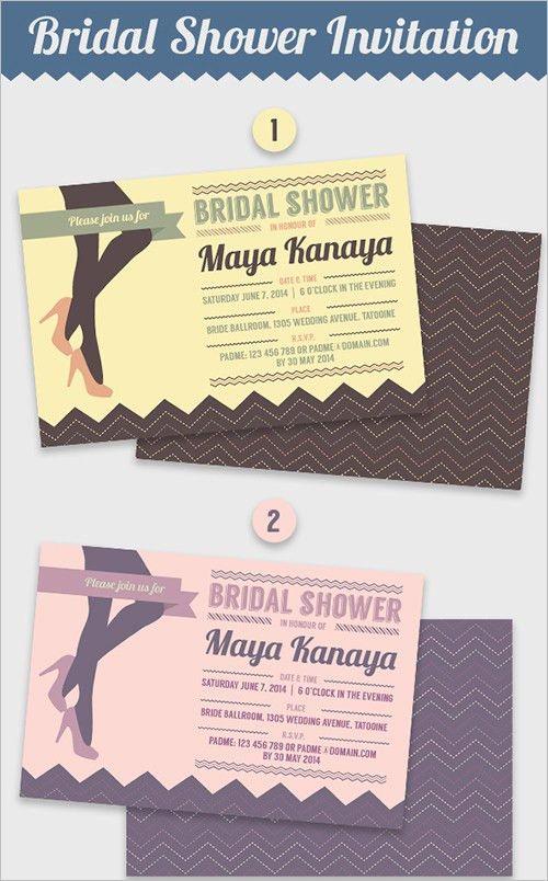 25+ Bridal Shower Invitations Templates | PSD Invitations | Free ...