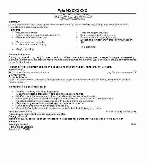 Best Customer Delivery Teammate Resume Example   LiveCareer
