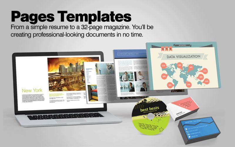 Resume Apple Pages. download resume templates pages. 13 best ...