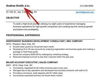 how to write the perfect resume business insider - Perfect Professional Resume