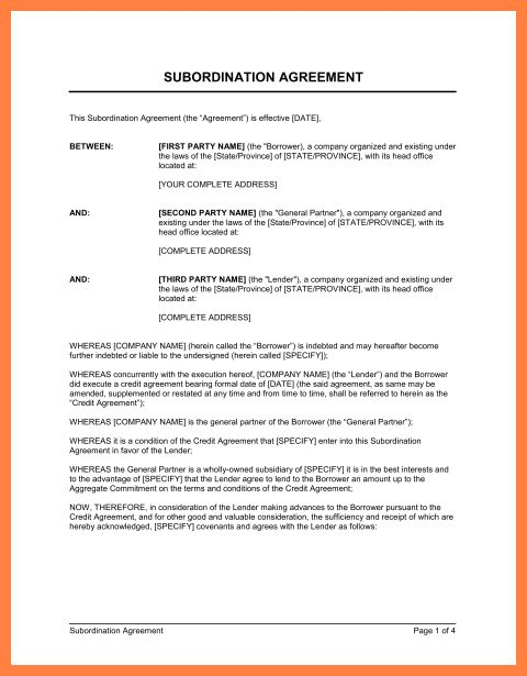 5+ intercompany loan agreement template | Company Letterhead