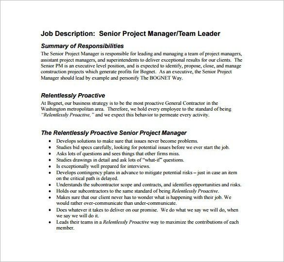 Project Management Executive Resume Example In 25 Amusing ...
