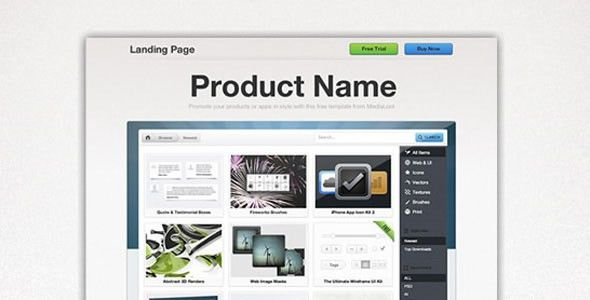 Free and Premium Landing Page Templates and Layouts - Designmodo